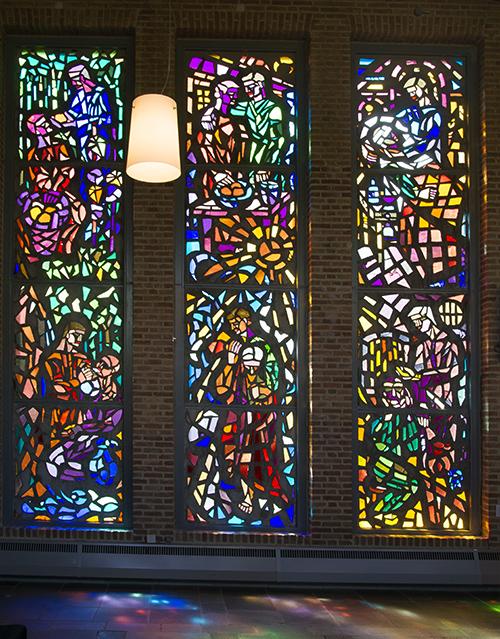 Kerkramen van Jan Wijkmans